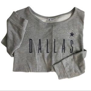 Dallas Cowboys women's football sweatshirt